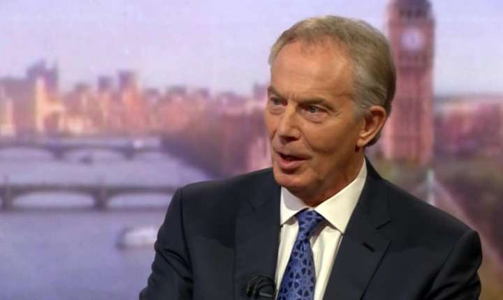 Tony Blair intervievat de BBC