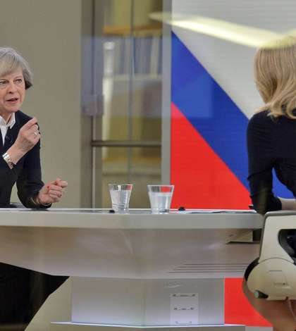 Theresa May intervievată de Sky News